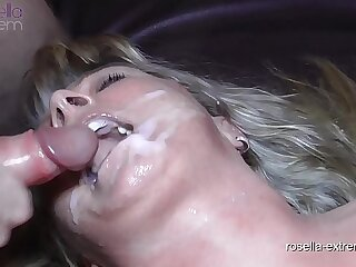 Teen girl Laura and Milf Rosella in the fuck and cum hell! Part 8