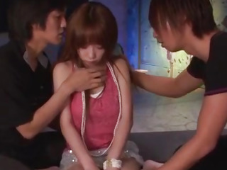 Dirty gangbang fuck with naughty Sana Anzyu