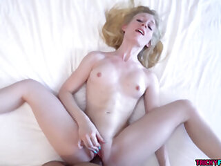 Emma Starletto fucked doggystyle before cumshot