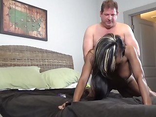 Boss takes care of secretary